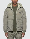 Stone Island Nylon Ripstop Hooded Down Jacket Picutre
