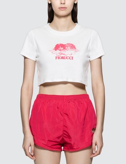 Fiorucci Angel Crop Short Sleeve T-shirt