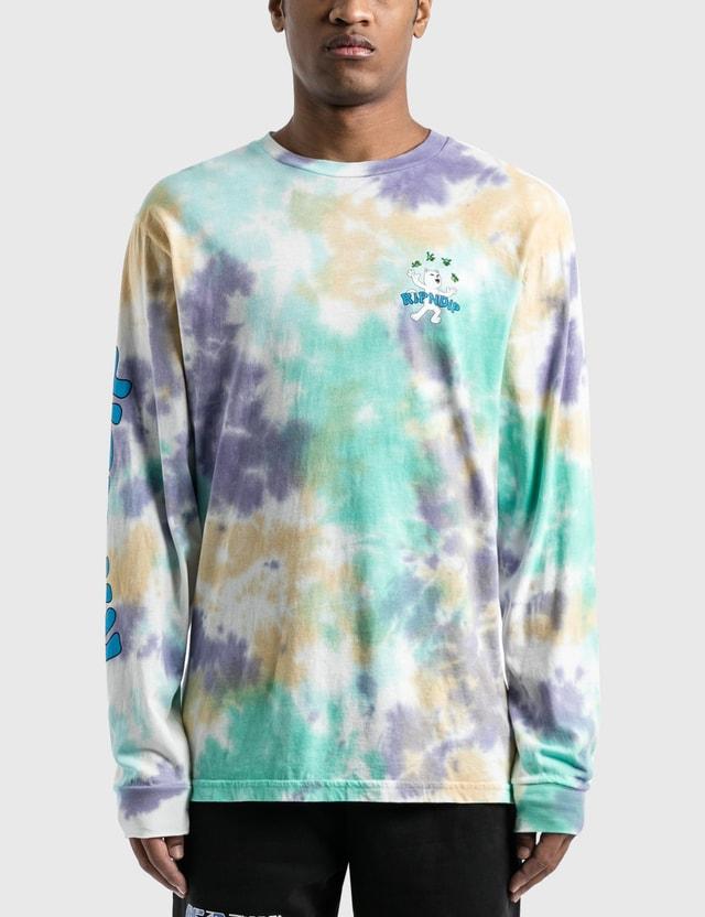 RIPNDIP Lucky Charms Long Sleeve T-Shirt Multi Tie Dye Wash Men