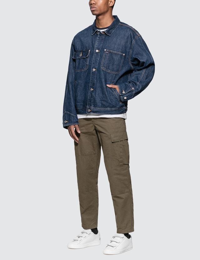 Polo Ralph Lauren Dungaree Sports Throwback Jacket