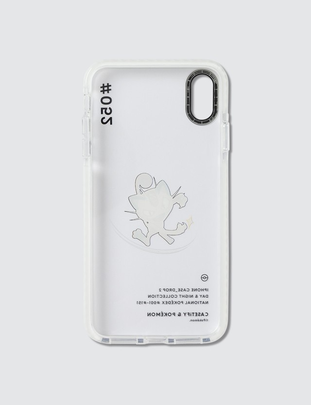 Casetify Meowth 052 Pokédex Day Iphone XS Max Case Clear Unisex