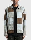 Stussy Patchwork Zip Jacket Multi Men