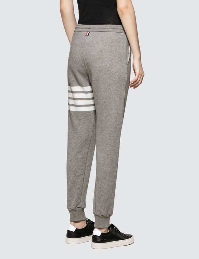 Thom Browne Classic Sweatpants In Classic Loop Back W/ Engineered 4 Bar