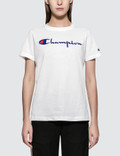 Champion Reverse Weave Crewneck Short Sleeve T-shirt Picture