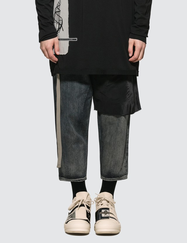7e1f1b470 Combo Collapse Cropped Jeans
