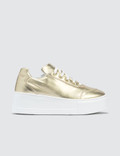 Joshua Sanders Gold  Liberty Trainers Gold Women