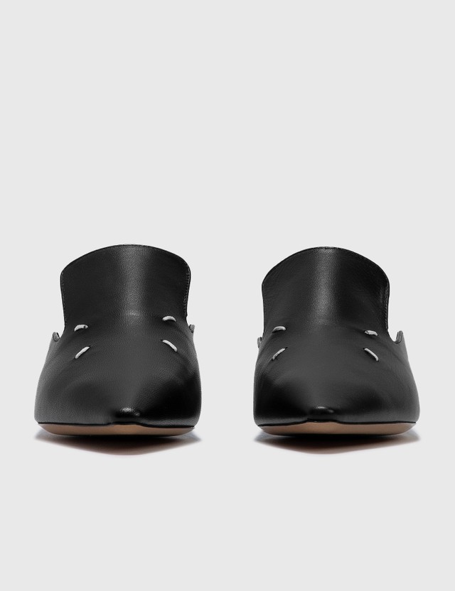Maison Margiela Leather Mules Black Women