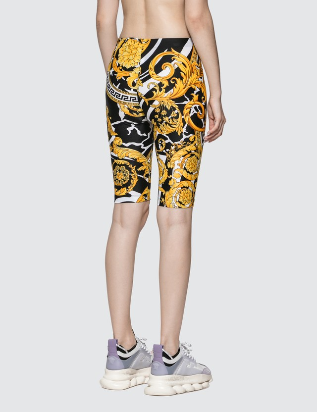 Versace Barocco Printed Bike Shorts