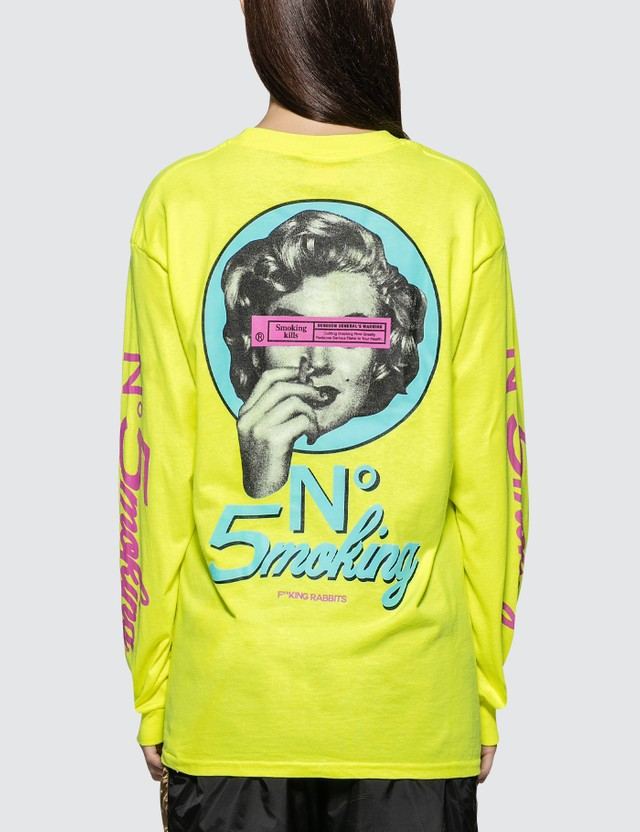 #FR2 No5moking Long Sleeve T-shirt
