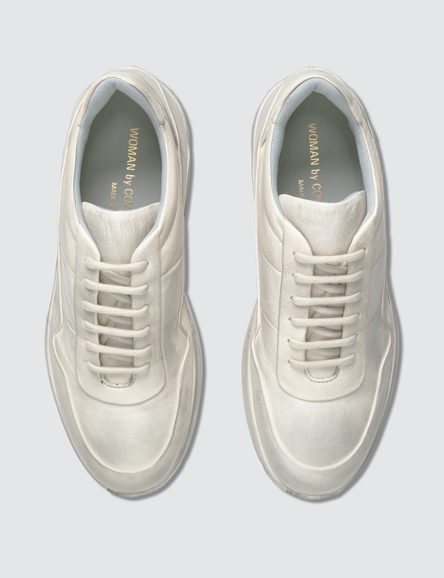 Common Projects Leather Cross Sneakers