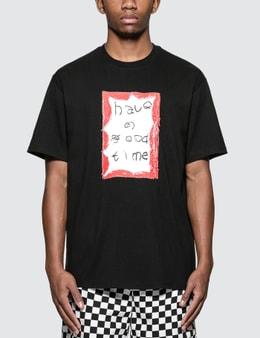 Have A Good Time Crayon Frame T-Shirt