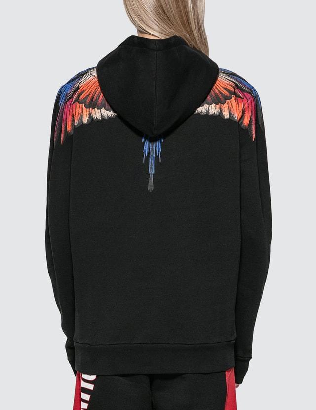 Marcelo Burlon Pink Wings Hoodie
