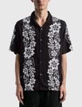 Stussy Hawaiian Pattern Shirt Black Men