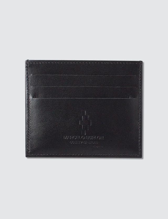 Marcelo Burlon Red Ghost Wings Card Holder