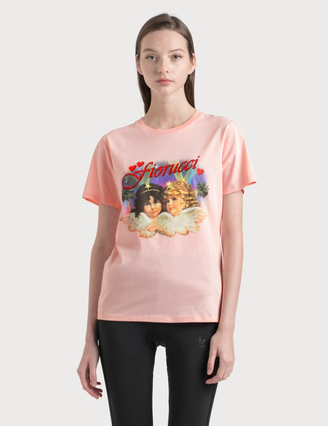 Fiorucci Hollywood Angels T-Shirt Pink Women