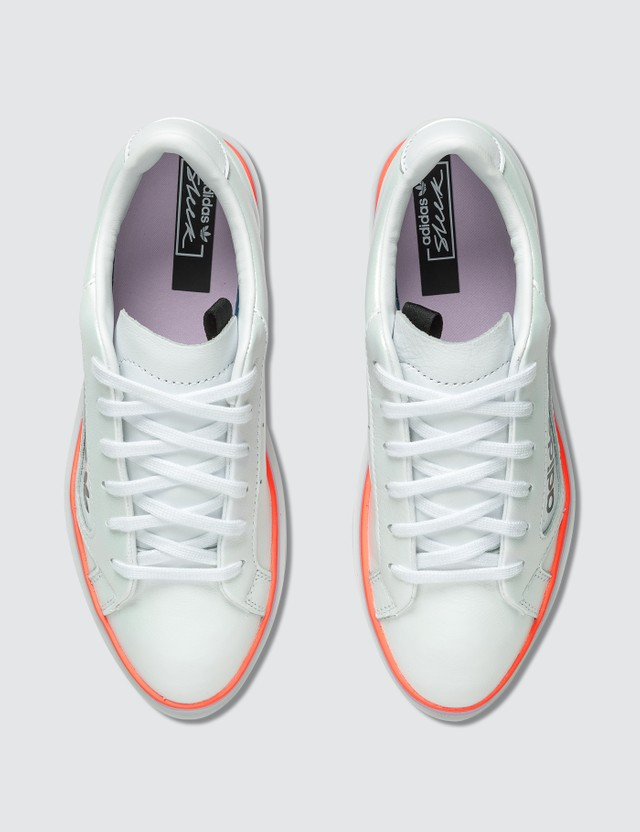 Adidas Originals Adidas Sleek Super W Ftwr White/clear Lilac/signal Coral Women