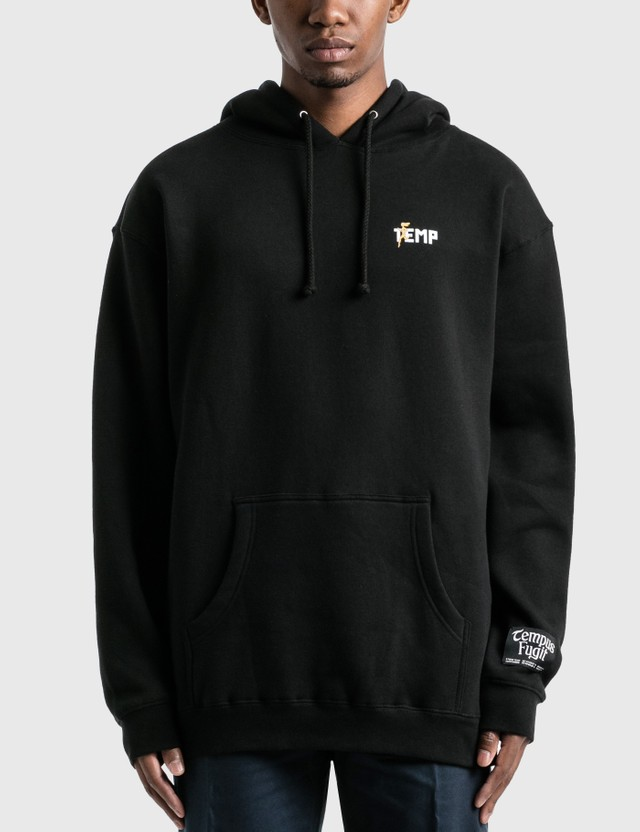 Saintwoods Studio Temp Hoodie Black Men