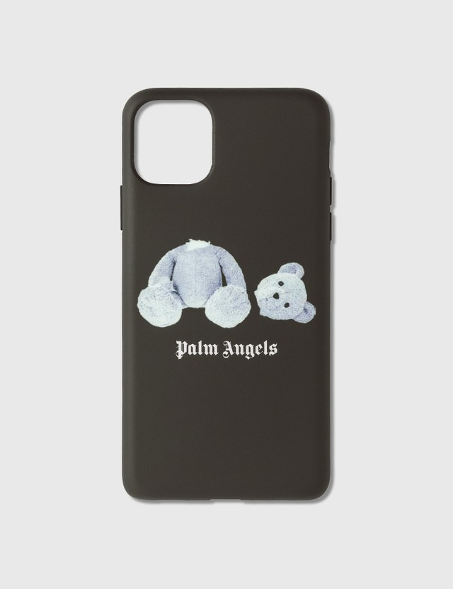 Palm Angels Palm Angels Ice Bear iPhone Case 11 Pro Max Black Whit Women