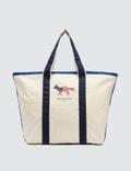 Maison Kitsune XL Richelieu Tote Bag Picture