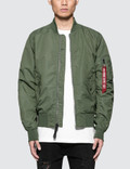 Alpha Industries L-2B Dragonfly Bloodchit Jacket with Reflective Bloodchit Picture