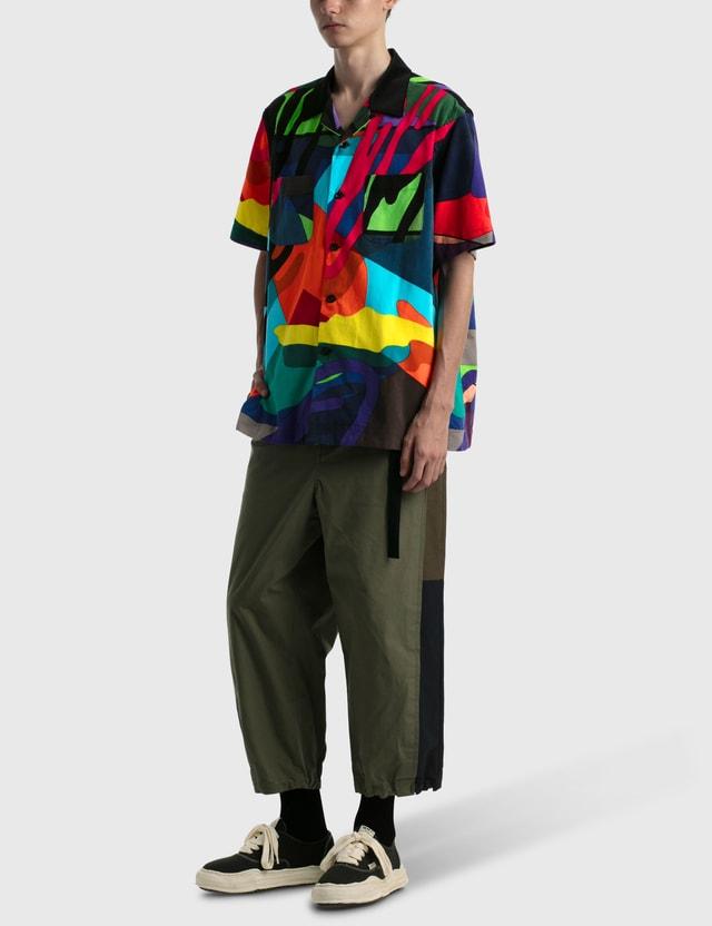 Sacai KAWS Print Shirt