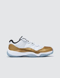 Jordan Brand Air Jordan Retro Xi Low White Gold (olympic) Picture