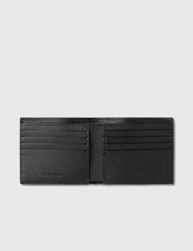 Saint Laurent Grain Leather East/West Wallet