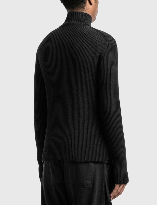 Bottega Veneta Chunky Merino Pullover 1000-nero Men