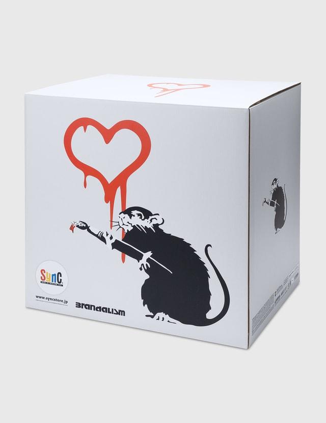 Medicom Toy Banksy Brandalism LOVE RAT