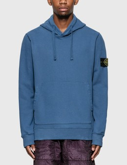 Stone Island Compass Patch Logo Classic Hoodie