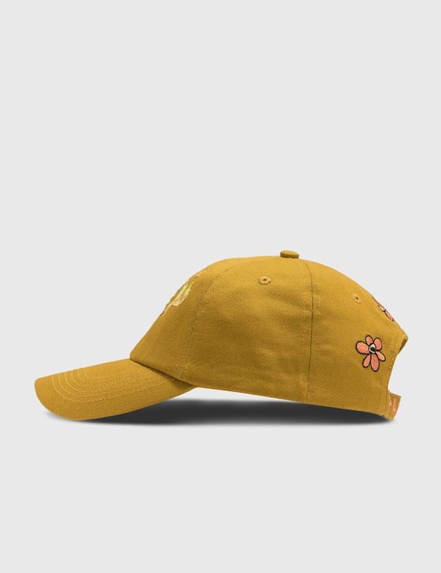 Perks and Mini Taste Like Ginseng And Gestures Embroidery Cap Antiquity Gold Men