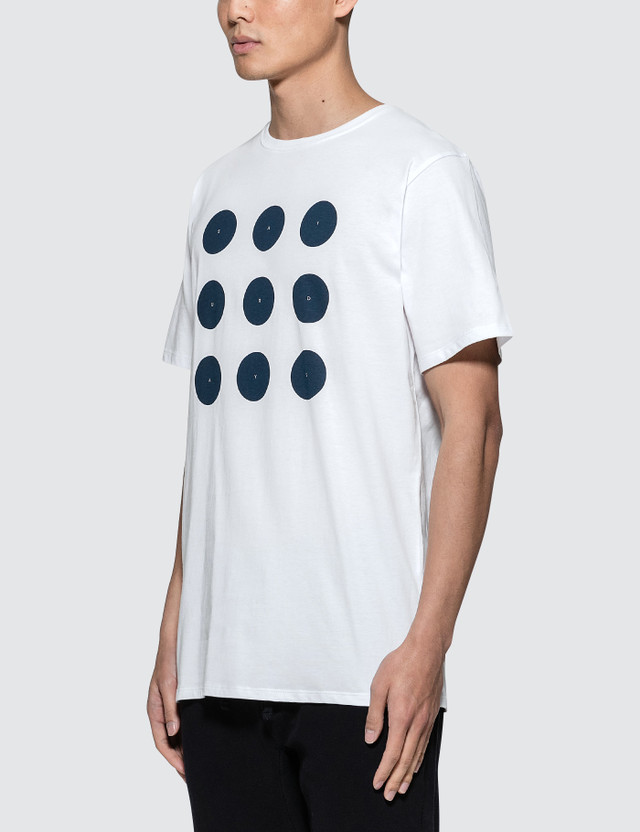 Saturdays Nyc Round Grid S/S T-Shirt