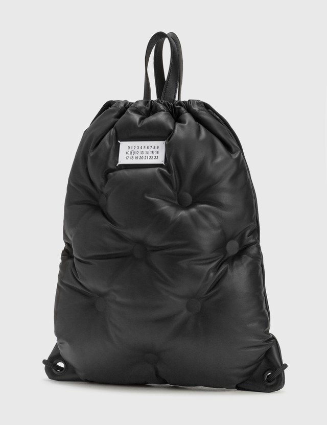 Maison Margiela Glam Slam Drawstring Backpack Black Men