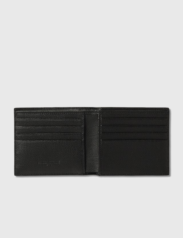 Maison Kitsune Debossed Fox Logo Wallet Black Men