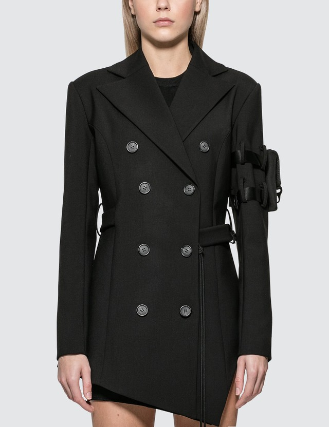 Hyein Seo Belted Jacket Dress