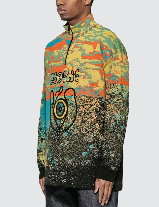 Loewe ELN High Neck Zip Sweater