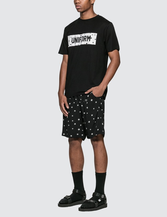 uniform experiment Star Box Logo T-Shirt