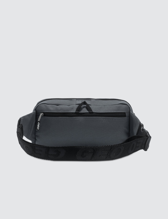 GEO Globe Belt Bag Grey Men