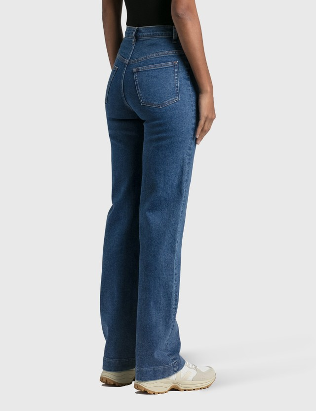 A.P.C. Spring Jeans Ial Washed Indigo Women