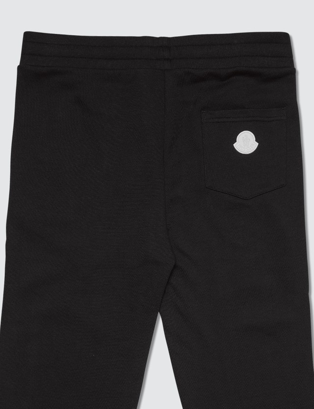 Moncler Jersey Jogger Pants with Side Logo