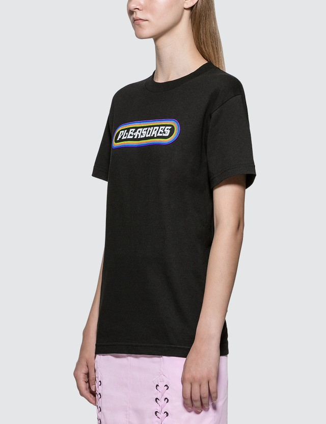 Pleasures Mania Logo T-shirt