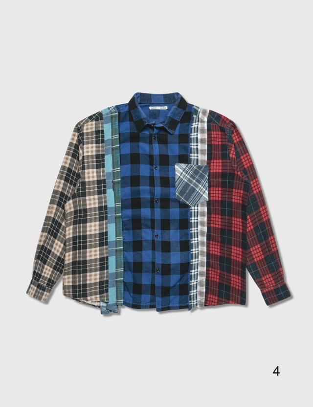 Needles 7 Cuts Flannel Shirt