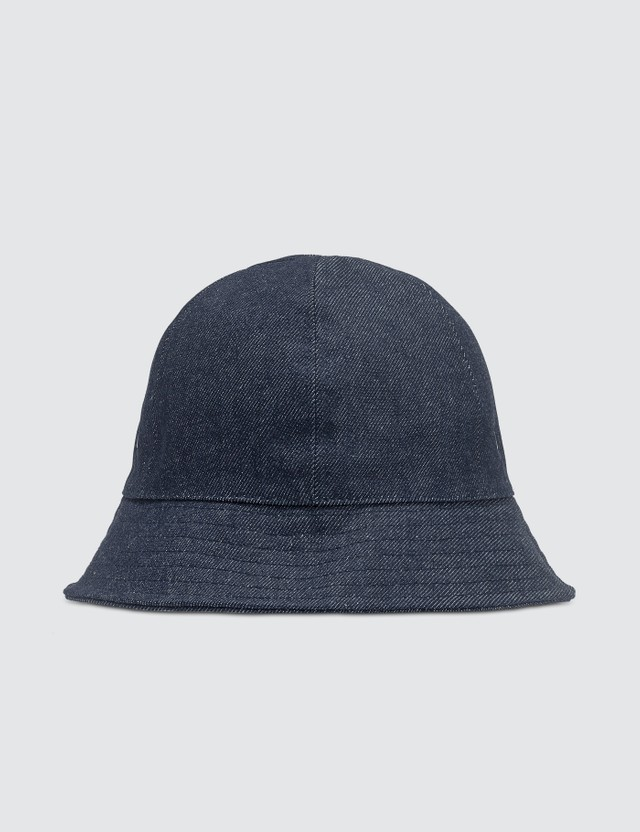 A.P.C. A.P.C. x Brain Bead Bob Denim Buckle Hat