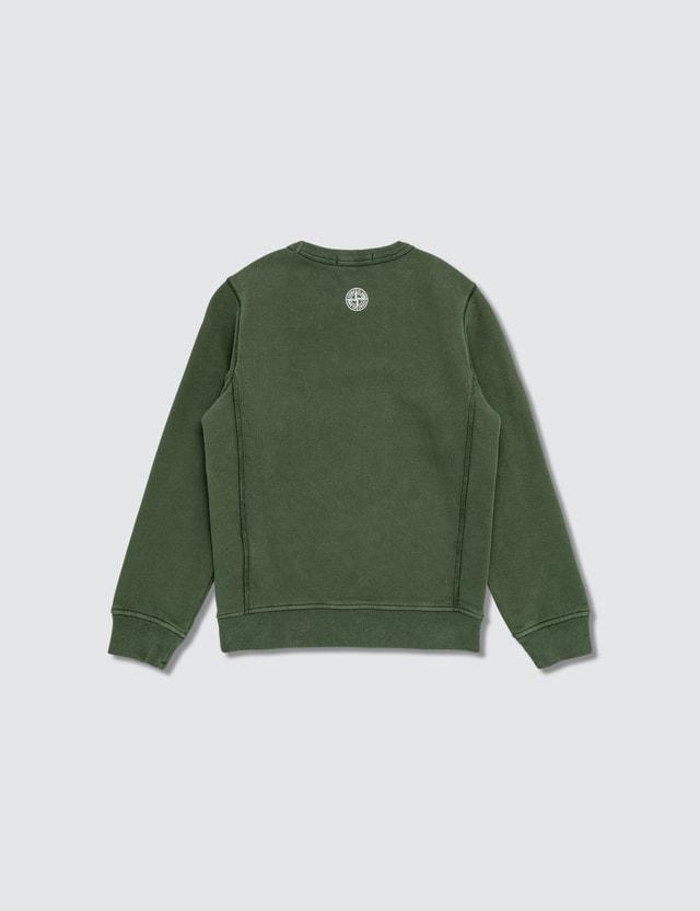 Stone Island Logo Print Sweatshirt (Kids)