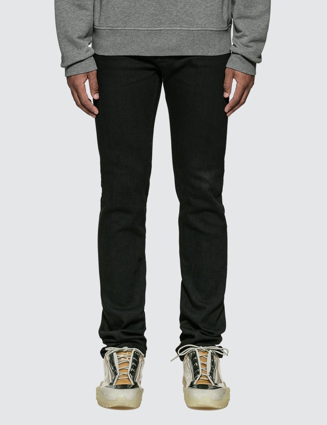 Maison Margiela Raw Resin Slim Jeans