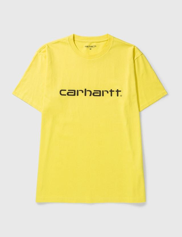 Carhartt Work In Progress Script T-shirt Limoncello / Black Men
