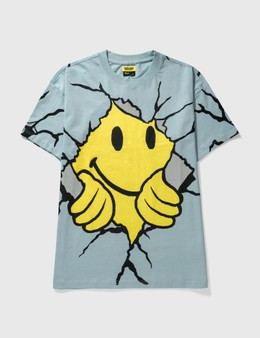 Chinatown Market Smiley Dry Wall Breaker T-shirt