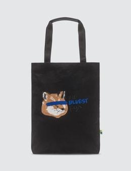 Maison Kitsune Ader Error x Maison Kitsune Fox Head Tote Picture