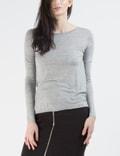 Cheap Monday Grey Melange State L/S T-shirt Picutre