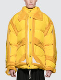 Maison Margiela Yellow Trim Show Puffer Jacket Picture